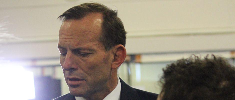 War gestern stets um Fassung bemüht: Australiens Premier-minister Tony Abbott.