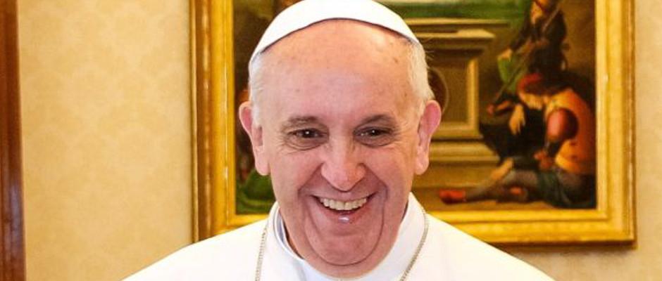 Papst Franziskus liebt es, seine Mitmenschen zum Lachen zu bringen.