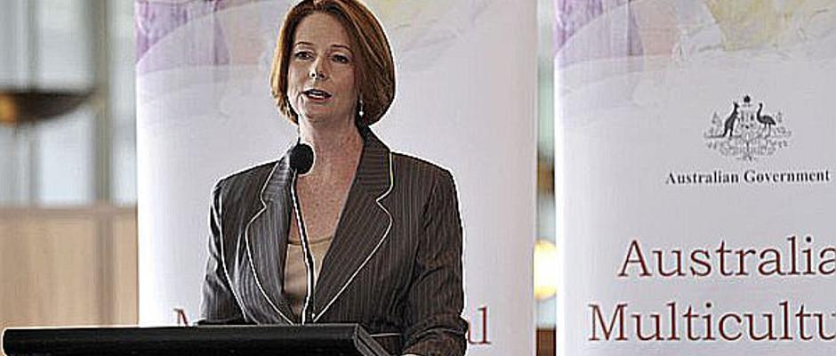War gestern stets um Fassung bemüht: Australiens Premierministerin Julia Gillard.