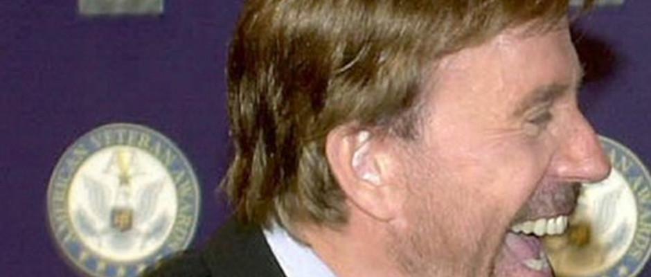 Löst bei vielen Menschen gute Laune aus: Chuck Norris.