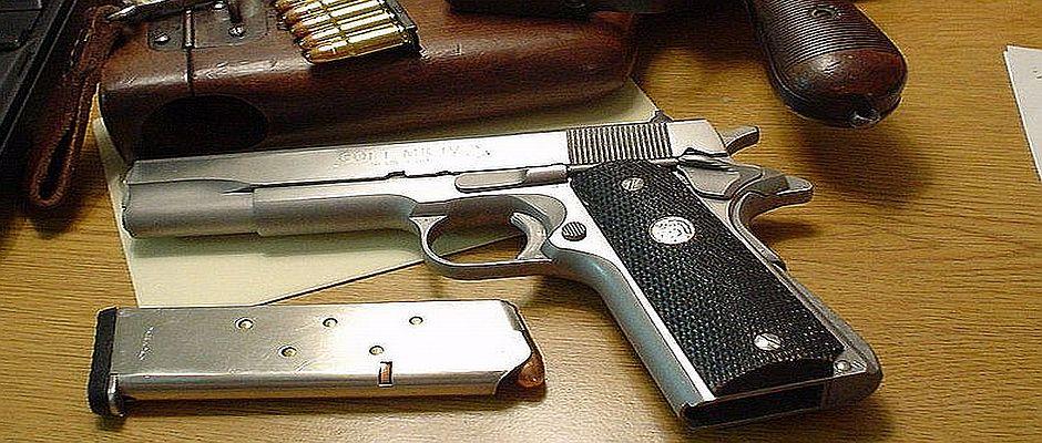 Es ist laut Studienleiter Ralf Herbiger offenbar ein Unterschied, ob eine Pistole geladen oder ungeladen ist.