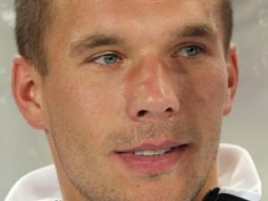 Braucht sich keine Sorgen mehr um einen möglichen Hirntumor zu machen: Fußballprofi Lukas Podolski.