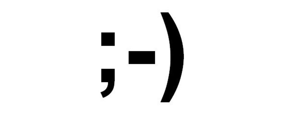 Besonders dieser Smiley erfreut sich in der Netzgemeinde großer Beliebtheit, da er mit seinem charmanten Zwinkern oft den Ernst einer Aussage entschärft.