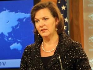 Victoria Nuland, laut Medienmeldungen eine amerikanische Top-Diplomatin.