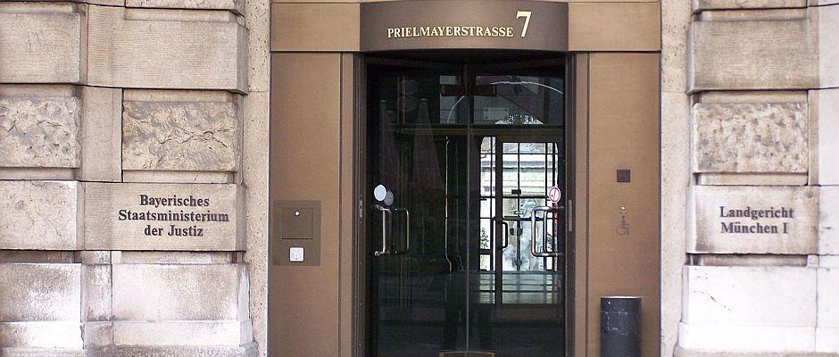 Auch hier, im Münchener Landgericht wurden heute wieder Urteile gesprochen.