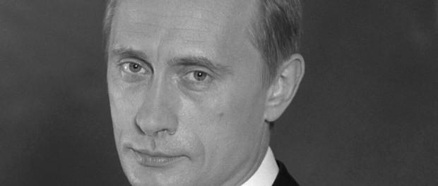 Wladimir Putin (1952 - 2014) erlag gestern einem Lachanfall.