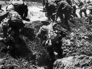 Zum Gedenken an den ersten Weltkrieg wird es solche Bilder dieses Jahr in Europa wieder geben.