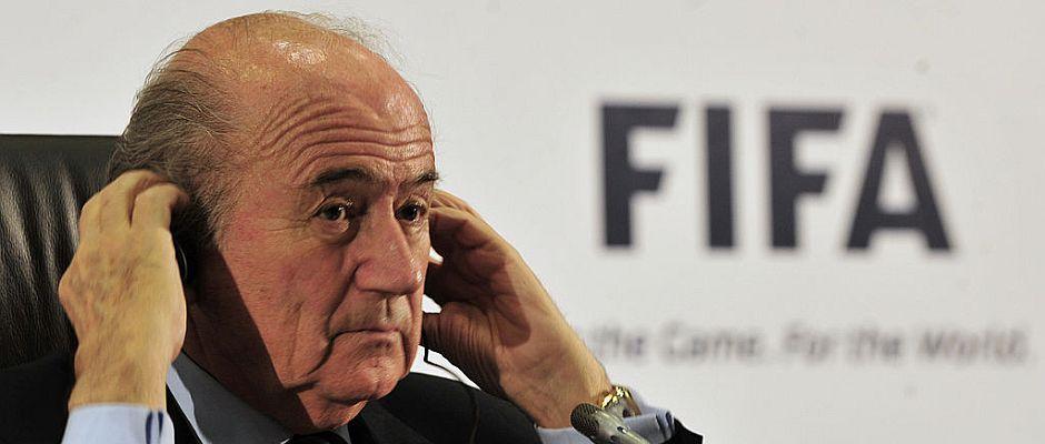 Zeigt sich entspannt ob der Lage in Brasilien: Fifa-Präsident Sepp Blatter.