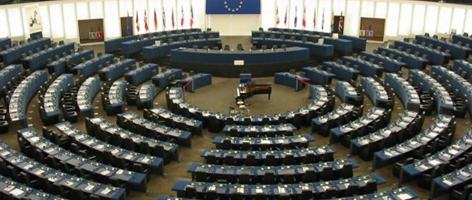 Bald herrscht hier wieder gähnende Leere: das Europäische Parlament in Straßburg.