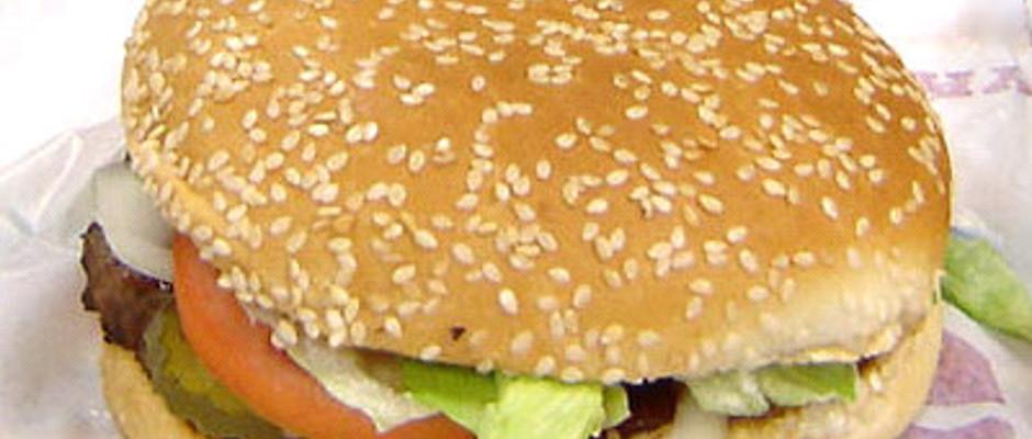 Lecker und - äh, ja. Lecker: der Whopper von Burger KIng.