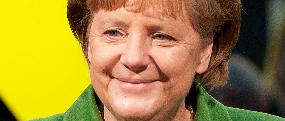 Wird heute 60 Jahre alt: Angela Merkel, Bundeskanzlerin von Deutschland.