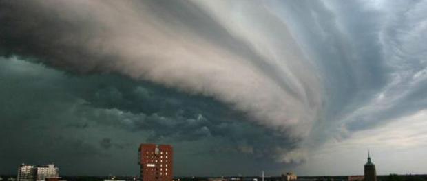 Die Microsoft Cloud bringt Regen, Wind und niedrige Temperaturen.