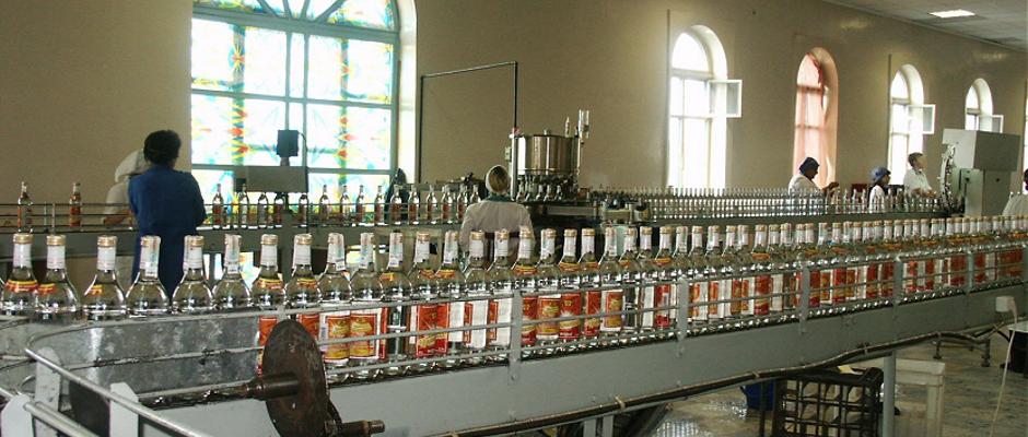 Die russische Wodka-Industrie ist einer der Eckpfeiler der heimischen Wirtschaft.