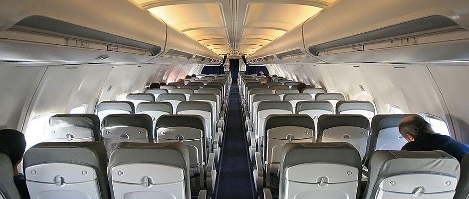 Soll es in Zukunft in vielen Flugzeugen nicht mehr geben: Sitze.