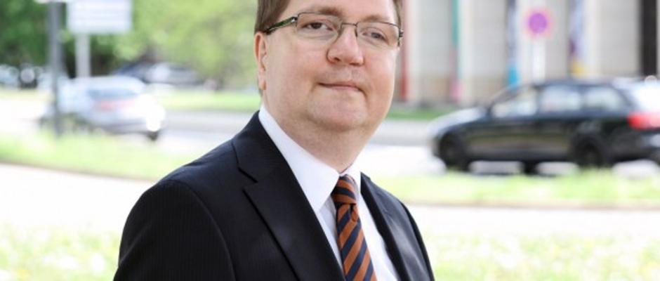 Der Spitzenkandidat der sächsischen Nationaldemokraten: Holger Szymanski.