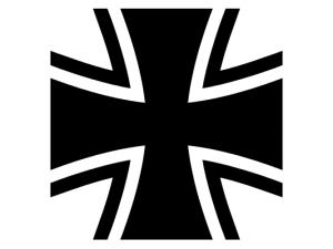Nach wie vor sehr schön: das Bundeswehrkreuz.