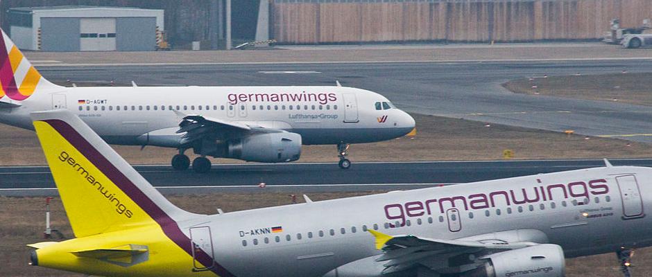 Die Flugzeuge der Airline Germanwings blieben heute aus werbestrategischen Gründen auf dem Boden.