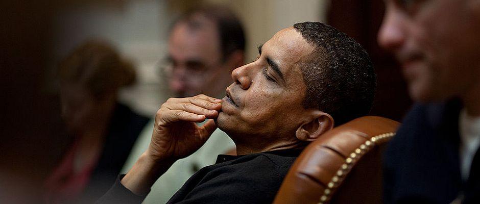 Muss in den noch verbleibenden letzten zwei Amtsjahren nun einiges über sich ergehen lassen: Präsident Barack Obama.