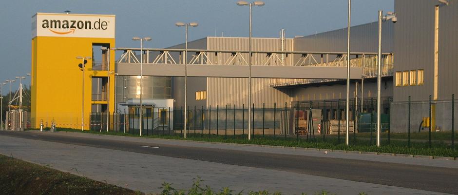 Auch das Amazon-Versandlager in Leipzig wird bestreikt.