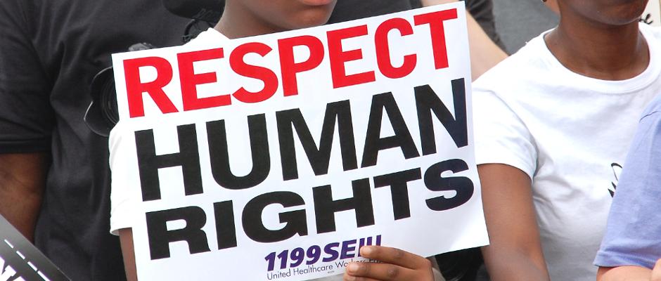 Die Forderung nach Menschenrechten für Schwarze ist für viele Amerikaner dann doch etwas übertrieben.