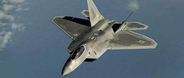 Auf die USA ist einmal mehr Verlass. Amerikanische Kampfflieger auf dem Weg nach Dresden.
