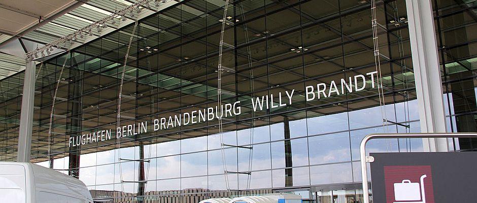 Wurde gestern überraschend eröffnet: Der Hauptstadt Flughafen BER.