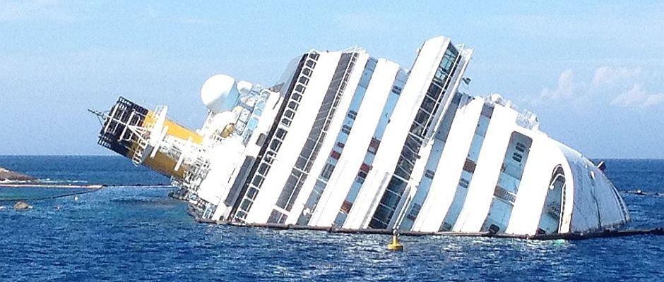Kapitän Schettino war damals einer der Ersten, der die sinkende Costa Concordia verließ.