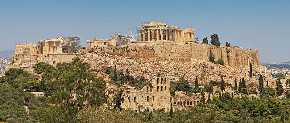 Finanziert von deutschen Urvölkern? Die Akropolis in Athen.