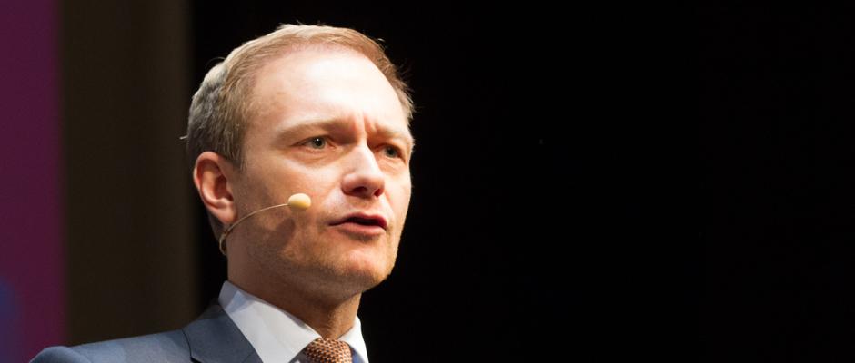 Sieht Großes auf seine Partei zukommen: FDP-Chef Christian Lindner.