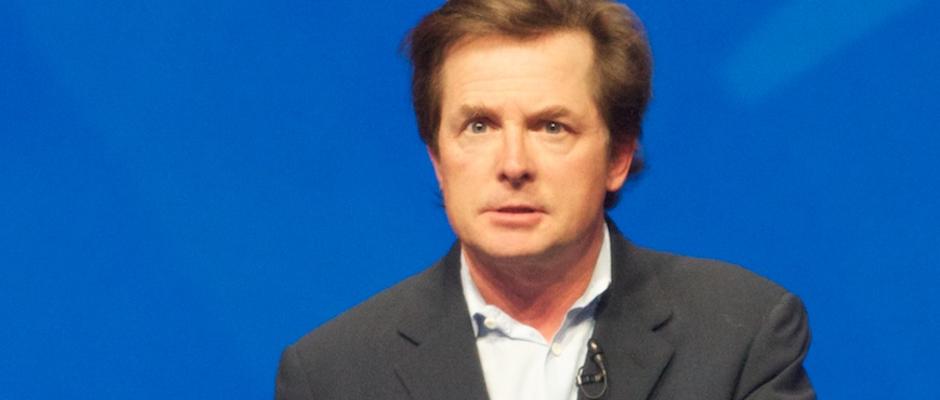 Michael J. Fox redet sich auf einer Veranstaltung in Rage über das Jahr 2015.