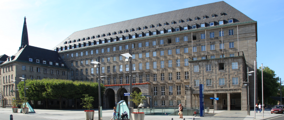 Das Rathaus in Bochum.