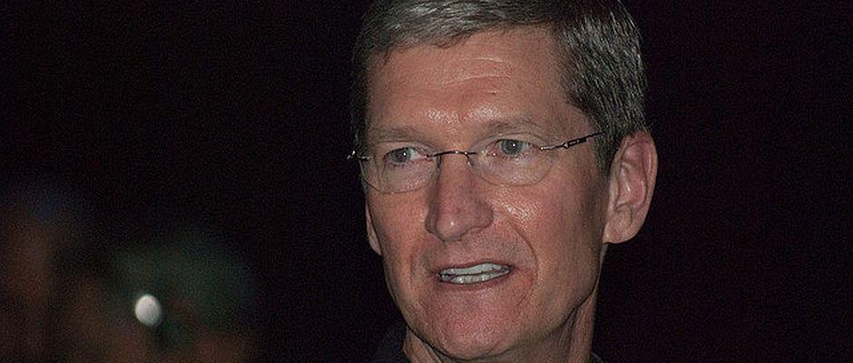 Begeisterte viele Menschen gestern mit neuen Produkten und neuen Planungen: Apple-Chef Tim Cook.