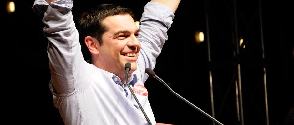 Hat Grund zur Freude: Griechenlands Regierungschef Alexis Tsipras.