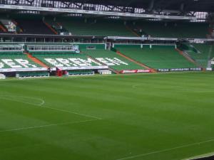 Auf dieser Grünfläche im Herzen Bremens spielte sich gestern das Drama mit zahlreichen Verletzten ab.