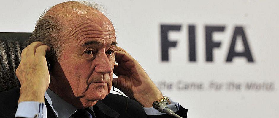 FIFA-Boss Blatter sorgte einmal mehr für eine große Überraschung.