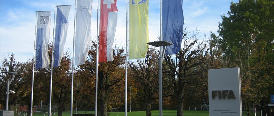 Das FIFA-Hauptquartier in Zürich.