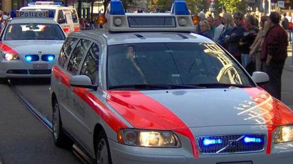 Die Zürcher Polizei war zum Glück schnell vor Ort.