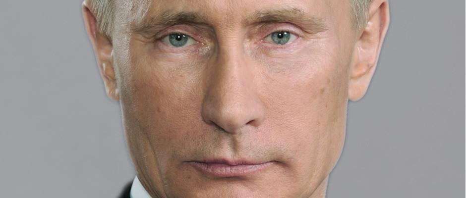 Ähnlich entschlossen wie dieser Blick des russischen Präsidenten ging es auf dem ersten G186-Gipfel in Moskau zu.