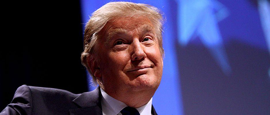 Der neue US-Präsident? Donald Trump.