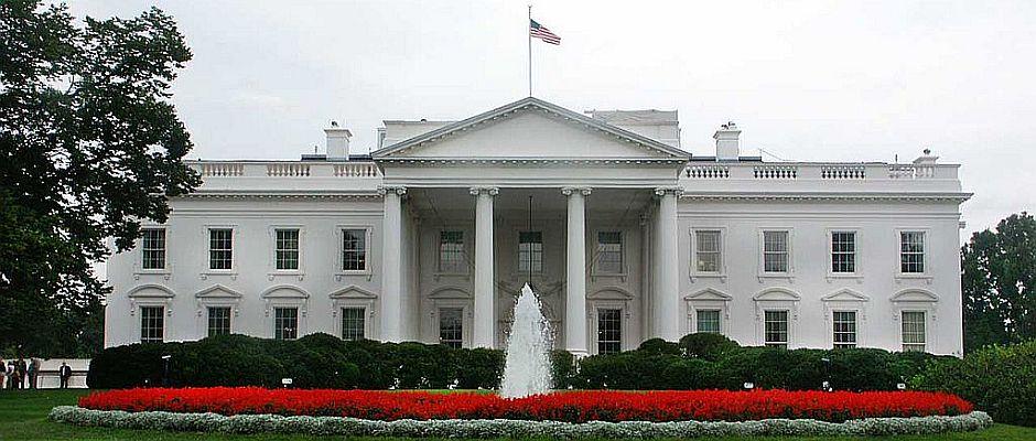 Seit Jahren ein begehrtes Anschlagsziel: Das Weiße Haus in Washington.