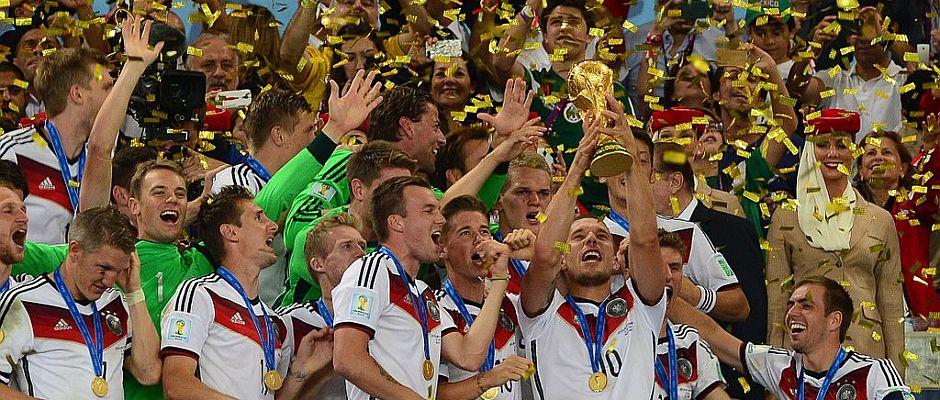 Nett, aber bald vermutlich nicht mehr vviel wert: Der letzte Weltmeistertitel für Deutschland aus dem vergangenen Jahr.