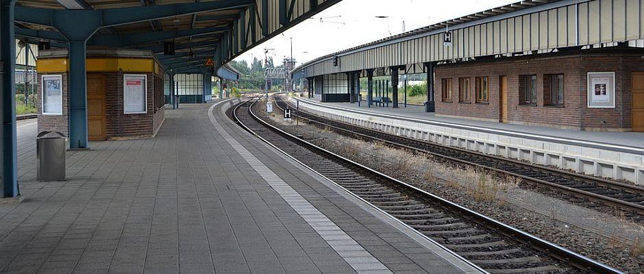 Leere Bahnhöfe soll es auch in Zukunft vorerst noch geben, damit Bahnkunden sich langsam ans Ende des Streiks gewöhnen können.