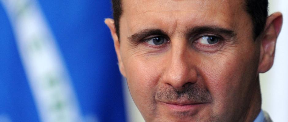 Sorgt sich um griechische Flüchtlinge: Syriens Präsident Baschar al-Assad.