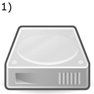 Erstellen Sie als erstes ein Backup. Am besten nutzen Sie dafür eine externe Festplatte - so verhindern Sie, dass Ihnen Daten verloren gehen!