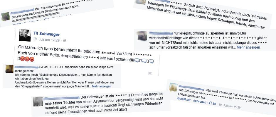 Auf der Facebookseite von Til Schweiger wurde der neue Filter bereits erfolgreich getestet.