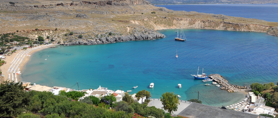 Vor allem die schönen Strände und das blaue Meer liebt Schäuble an der griechischen Insel Kreta.