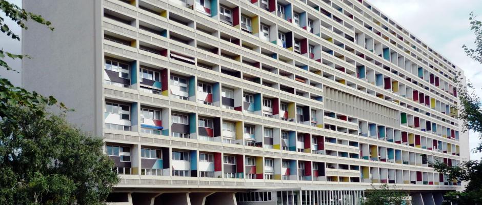 Schrecklich: Das Corbusierhaus in Berlin.
