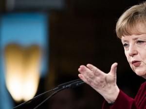 Angela Merkel, deutsche Bundeskanzlerin seit 2005.