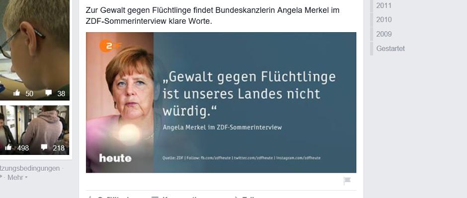 Wirklich nichts für schwache Nerven: Angela Merkels Wortwahl im Sommerinterview.