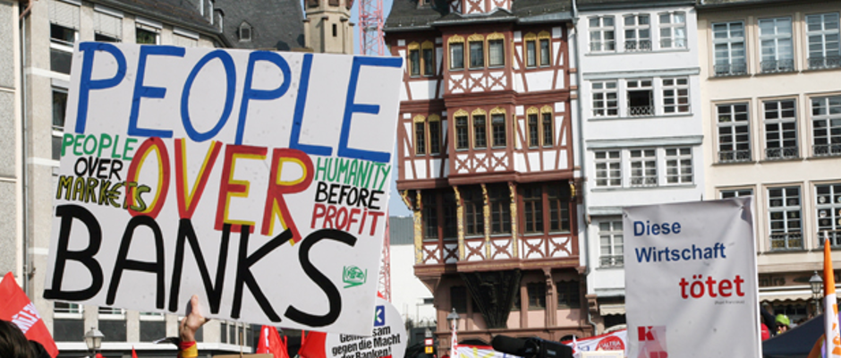 Szenen wie diese spielen sich derzeit in Frankfurt ab (Symbolbild).